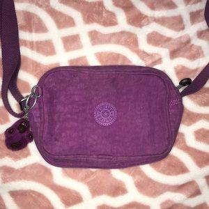 Kipling Purple Crossbody Bag